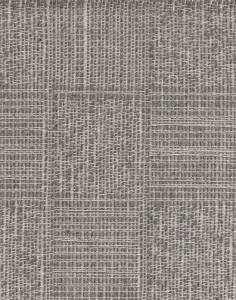 Gray Ivory Weaved Design Upholstery Fabric