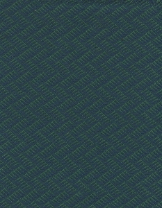 Green Blue Zig Zag Design Upholstery Fabric