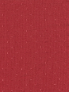 Formal Crimson Red  Upholstery Fabric