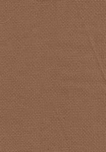 Rust Color Weaved Pattern Upholstery Fabric