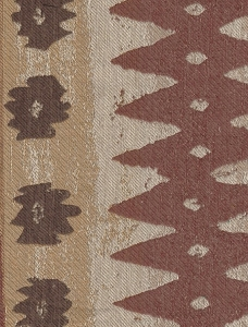 Brown Toned Southwestern Design Upholstery Fabric