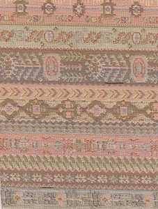 South Western Pastel Stripe Upholstery Fabric