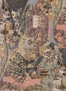 Olde Times Landscape Upholstery Fabric