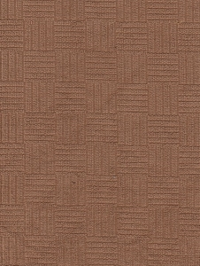 Solid Clay Square Design Upholstery Fabric