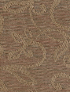 Beige Chenille Vine Pattern Upholstery Fabric