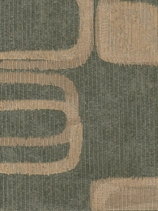 Green Beige Modern Design Upholstery Fabric