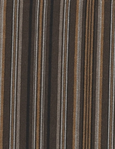 Balance Ebony Black Brown Stripe Upholstery Fabric