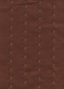 Rust Brown Dotted line Upholstery Fabric