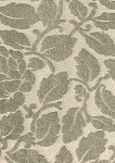 Breen Khaki Ivory Floral Upholstery Fabric