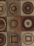 Chatroom Autumn Mill Creek Brown Green Gold Upholstery Fabric