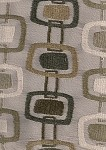 Party Line Sand Brown White Gray Modern Design Upholstery Fabric
