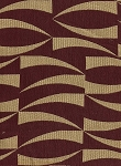 Maroon Red Gold Modern Design Upholstery Fabric