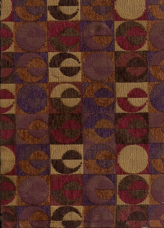 Volcaner Berry Purple Red Gold Brown Modern Pattern