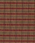 Rico Jasper Red Green Gold Stripe Upholstery Fabric