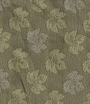 Green White Leaf Pattern Upholstery Fabric