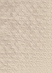 Ivory Diamond Pattern Upholstery Fabric