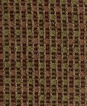 Aisley Sandstone Brown Green Upholstery Fabric