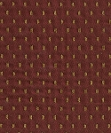 Hamersy Merlot Red Gold Diamond Upholstery Fabric