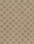 White Tan Diamond Pattern Upholstery Fabric