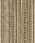 Tan Gold Stripe Upholstery Fabric