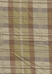 Donavaninn Sandstone Brown Tan Khaki Plaid Upholstery Fabric