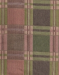 Woodgate Pesto Pink Green Plaid Upholstery Fabric