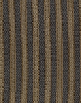 Ahura Onynx Black Gold Stripe Upholstery Fabric