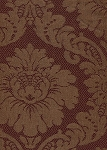 Avedon Bordeau Victorian Style Maroon Red Upholstery Fabric