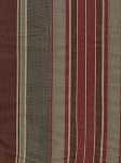 Brandywine Autumn Red Gray Gold Stripe Fabric