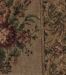 Jellico Park Panel Stripe Floral Upholstery Fabric