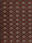Danbury Russet Red Gold Diamond Upholstery Fabric
