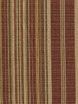 Randomlane Redrock Red Brown Tan Stripe Upholstery Fabric