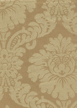 Victorian Style Yellow Gold Upholstery Fabric