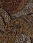 Big Bang Chenille Leaf Pattern Upholstery Fabric
