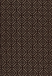 Trueman Mocha Brown Gold Maroon Diamond Pattern Upholstery Fabric