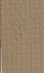 Trueman Springs Tan Ivory Diamond Pattern Upholstery Fabric