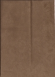 Vista Dark Brown Micro suede Upholstery Fabric