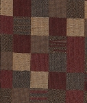 Trail Runner Spice Haffner Red Gold Tan Check Fabric