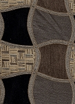 Rainer Charcoal Swavelle Mill Creek Black Brown Gold Upholstery Fabric