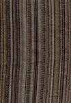Evans Vintage Swavell Mill Creek Brown Black Gold Stripe Upholstery