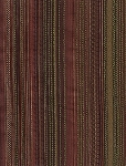 Shanghai Relic Green Brown Tan Stripe Upholstery Fabric