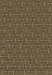 Gold Brown Check Pattern Upholstery Fabric