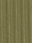 Anika Straw Green Ivory Stripe Upholstery Fabric
