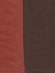 Denunzio Russet Red Brown Stripe Upholstery Fabric