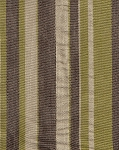 Mayenne Pesto Ivory Green Brown Stripe Upholstery Fabric