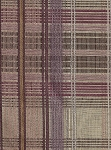 Matine Plaid Purple Pink Gold Plaid Upholstery Fabric