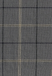 Buckhead Grey Black Ivory Plaid Upholstery Fabric