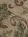 Venice Camel Beige Red Green Upholstery Fabric