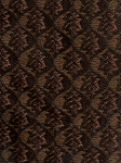 Conner Raisin Brown Blue Upholstery Fabric