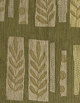 Boxtree Cactus Olive Beige Upholstery Fabric